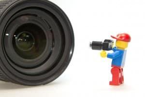 Photographe lego