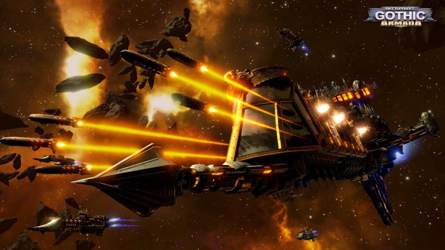 Battlefleet Gothic Armada Artwork