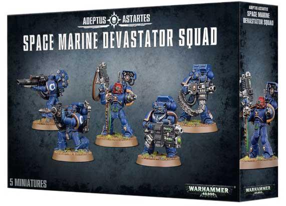 boite escouade devastator space marines