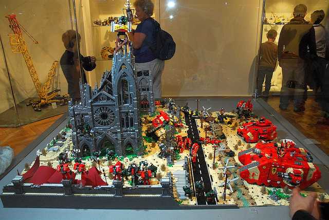 Jerac Warhammer 40k Lego diorama