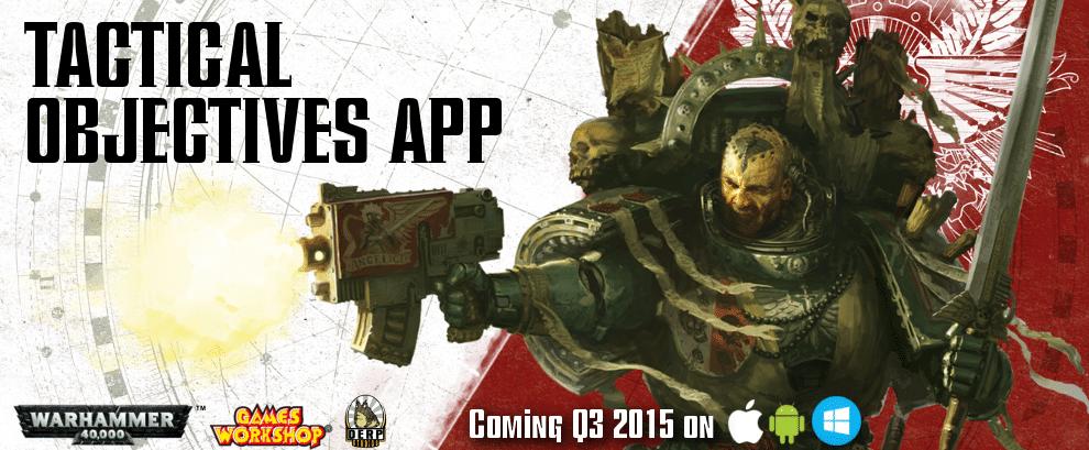 Tactical objectifs app