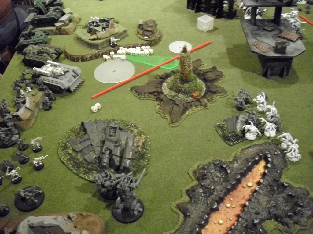 Terrain jeu Warhammer