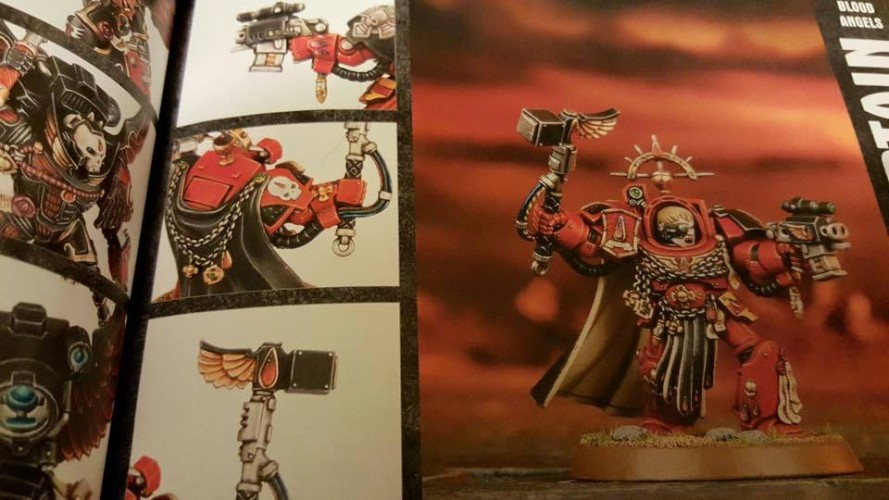 Capitaine Blood Angels