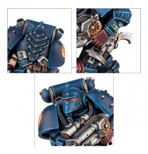 Figurine des 30 ans de Space Marines